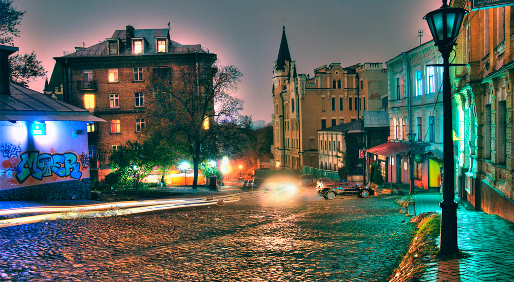 Around old streets of Podil