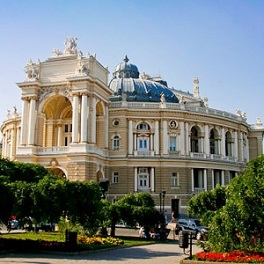 Excursion to Odesa National Academic Theater of Opera and Ballet